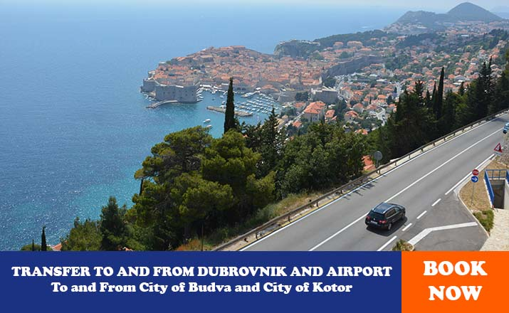 TRANSFER TO AND FROM DUBROVNIK AND AIRPORT