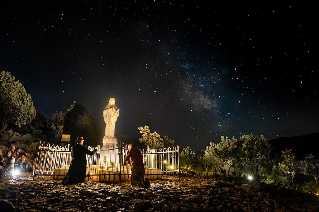 m Apparition Hill Medjugorje