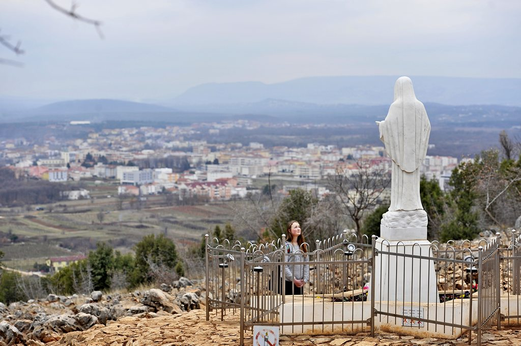 m The Apparition Hill in Medjugorje