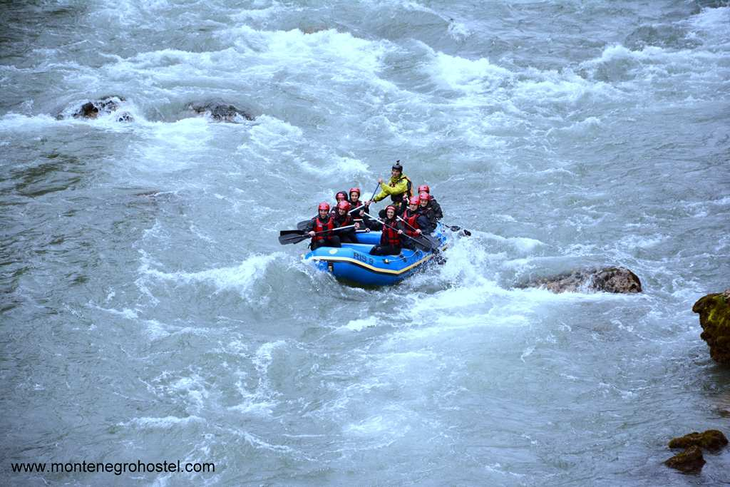 m Rafting in River Tara Canyon 13 001