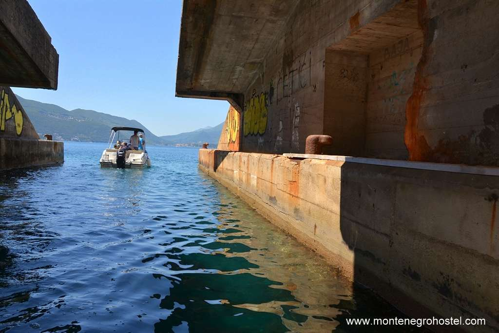 m Speed Boat Tour Kotor Boka Bay sumbarine tunnel 08