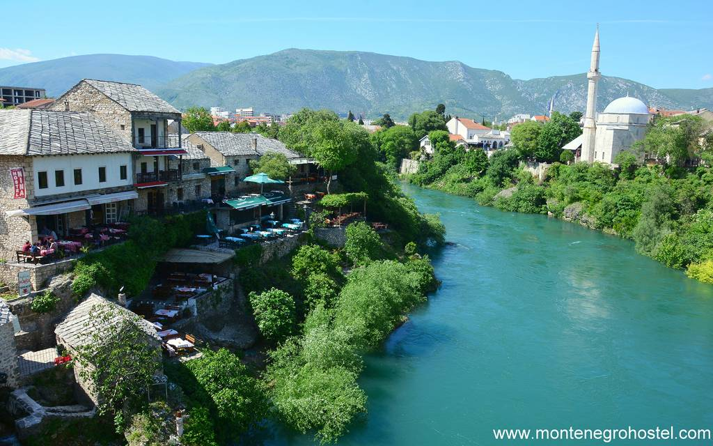 m Mostar old town