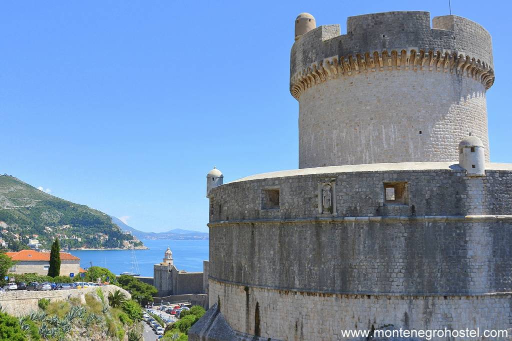 m Minceta Tower in Dubrovnik